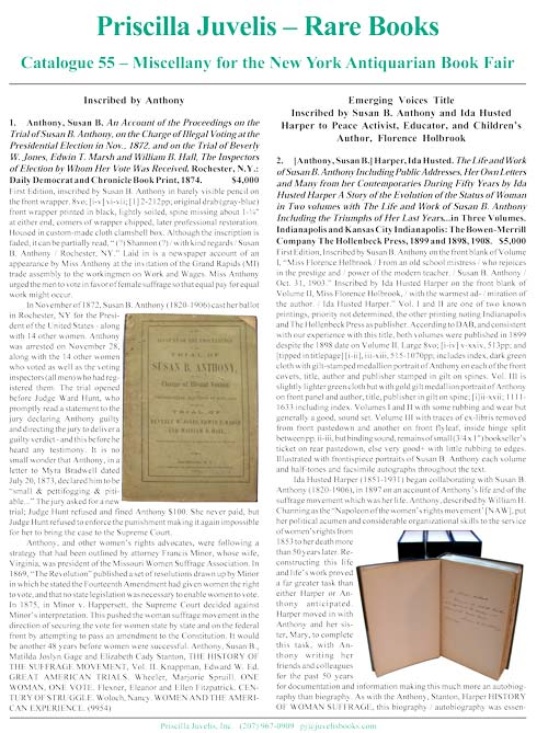 Catalogue 55 - Miscellany for the New York Antiquarian Book Fair