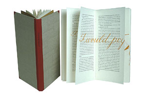 Bartleby the Scrivener, A Story of Wall-Street. Calligraphy by Suzanne Moore. Herman Indulgence Press. Melville.