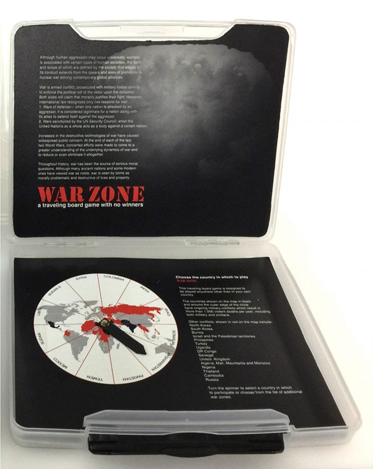 WarZone A Traveling Board Game with No Winners. Dorothy Krause.