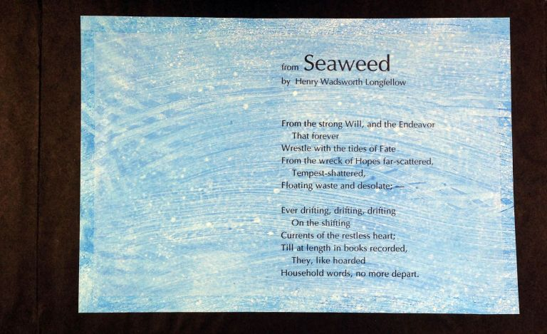 Underneath the Big Sea. From Seaweed by Henry Wadsworth Longfellow. Richard Reitz. Longfellow Smith, Henry Wadsworth.
