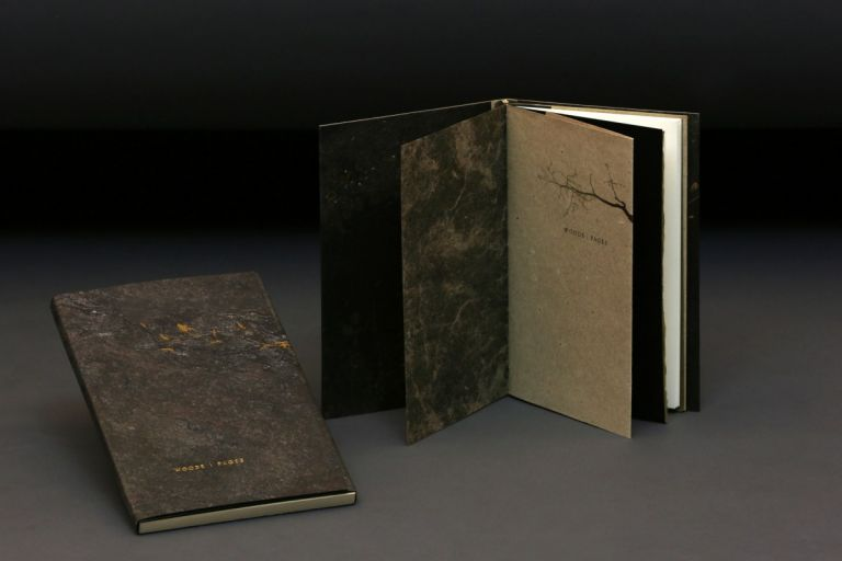 Woods / Pages. Colleen MillAr Curry, Jay, binder.