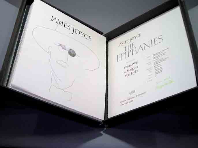 Epiphanies. Interpreted by Susan Weil and Marjorie Van Dyke. FitzGerald, Vincent. Joyce Co., James.