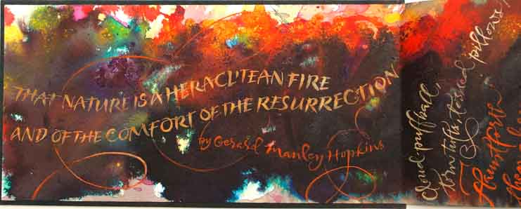 That Nature Is a Heraclitean Fire and the Comfort of the Resurrection by Gerard Manley Hopkins. Elizabeth McKee.