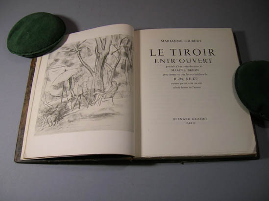 Le Tiroir entr'ouvert. With an introduction by Marcel Brion and 31 unpublished letters by R.-M. Rilke. Translated by Blaise Briod. Marianne Gilbert.
