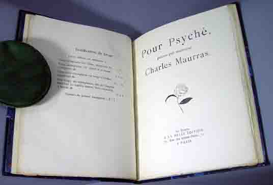 Pour Psyche. Charles Maurras.