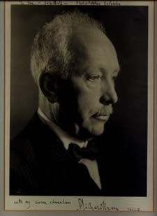 Strauss Photograph Inscribed and Signed. Richard Strauss.