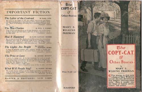 The Copy-Cat and Other Stories. Mary E. Wilkins Freeman.