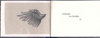 Archangel for Chet Baker. Caliban Press. Ai