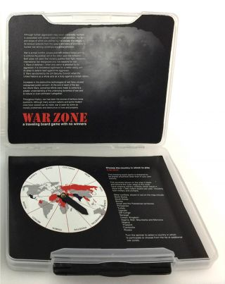 WarZone A Traveling Board Game with No Winners. Dorothy Krause