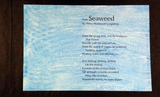 Underneath the Big Sea. From Seaweed by Henry Wadsworth Longfellow. Richard Reitz. Longfellow...