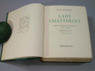 Lady Chatterley. Version Originale Traduite par Annie Brieire. Illustrations de Andre Collot....