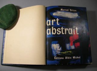 Art Abstrait. Marcel Brion