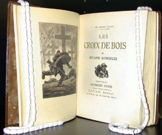 Les Croix de bois. Illustrated by Georges Pavis. Roland Dorgeles