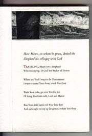 Moses and the Shepherd. Translated by Zahra Partovi. Illustrated by Mark Beard. FitzGerald,...