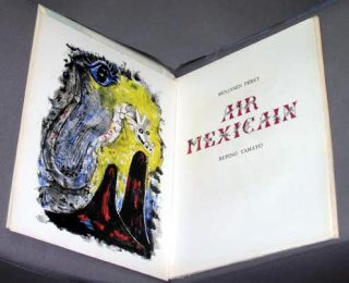 Air Mexicain by Benjamin Peret. Rufino Tamayo.