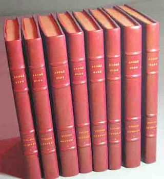 Le Theatre Complet.... Illustrated by Maurice Brianchon. Eight Volumes. Andre Gide.
