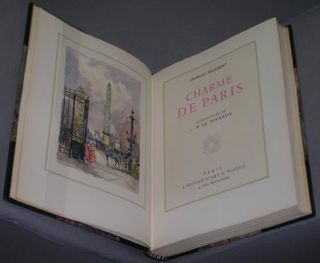 Charme de Paris. Illustrations de J.-M. Le Tournier. Georges Pillement