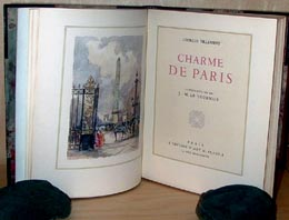 Charme de Paris. Illustrations de J.-M. Le Tournier.