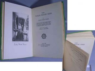 The Walk with God. Edited by her Daughter Laura E. Richards. Julia Ward Howe