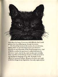 The Black Cat by Edgar Allan Poe. Illustrated with woodengravings by Alan James Robinson. Edgar...