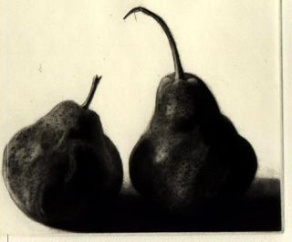Study of Two Pears / Etude de deux poires. A Poem by Wallace Stevens with a translation into...