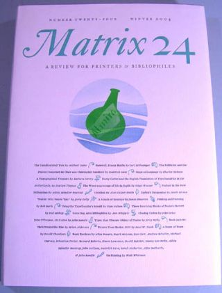 Matrix 24. Whittington Press